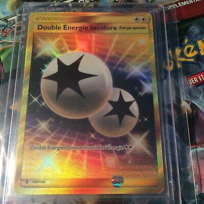 CARTES POKEMON DOUBLE ENERGIE INCOLORE 166//145 GARDIENS ASCENDANTS VF NEUF SL2
