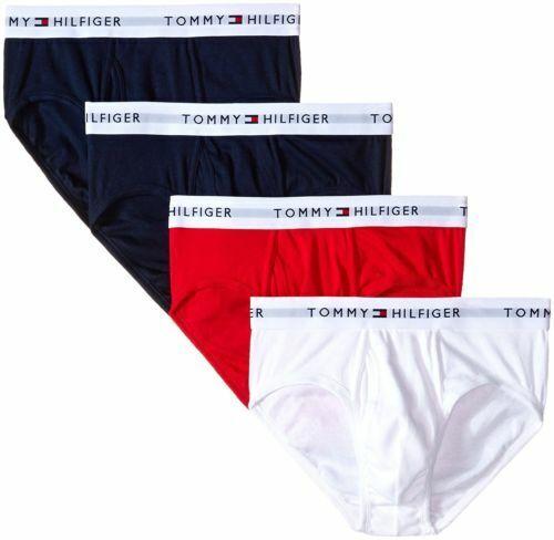 Tommy Hilfiger Men/'s 4-Pack Cotton Stretch Brief  Choose Size Color