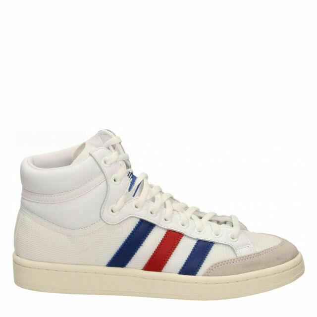 Size 12 - adidas Americana High White Royal Scarlet for sale ...
