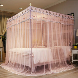 Mosquito bar luxury bed netting with frames mosquito net princess style curtain