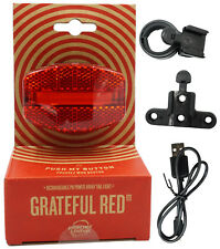 Planet Bike Grateful USB Tail Light Red/black