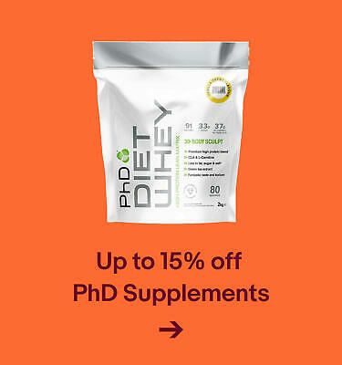 Up to 15% off  PhD Supplements