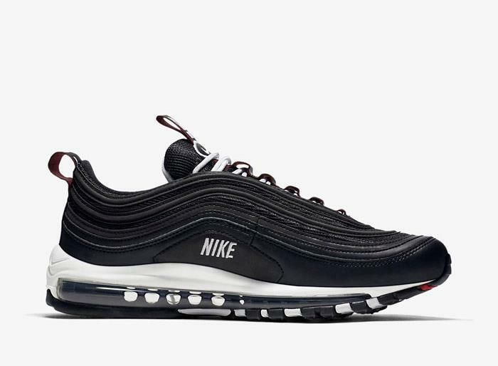 1811 Nike Air Max 97 Premium Men's Training Running shoes 312834-008