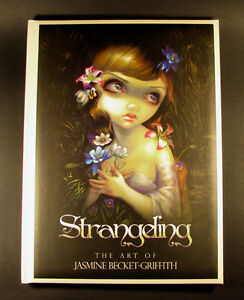 Strangeling-the-Art-of-Jasmine-Becket-Griffith-fantasy-book-SIGNED-AUTOGRAPHED