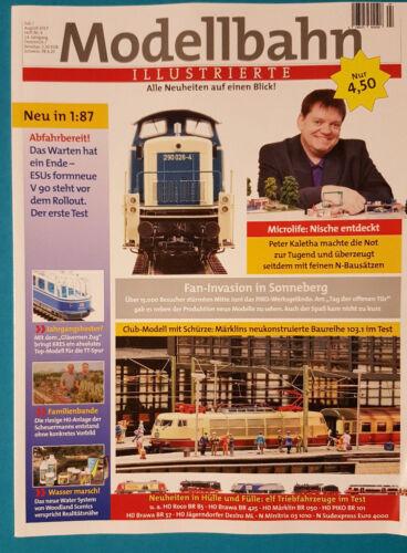 Modellbahn ILLUSTRIERTE Heft 4 Juli August 2017 ungelesen 1A abs.TOP