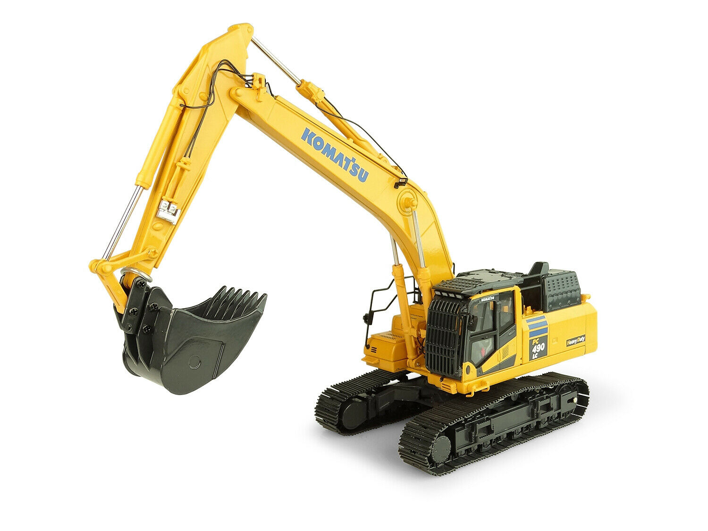 Komatsu PC490LC-11 Excavadora pesado deber 1 50 Diecast por Universal Hobbies UH8120