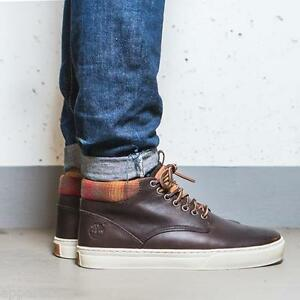 timberland chukka leather