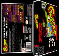 Frogger - Snes Reproduction Art Case/box No Game.