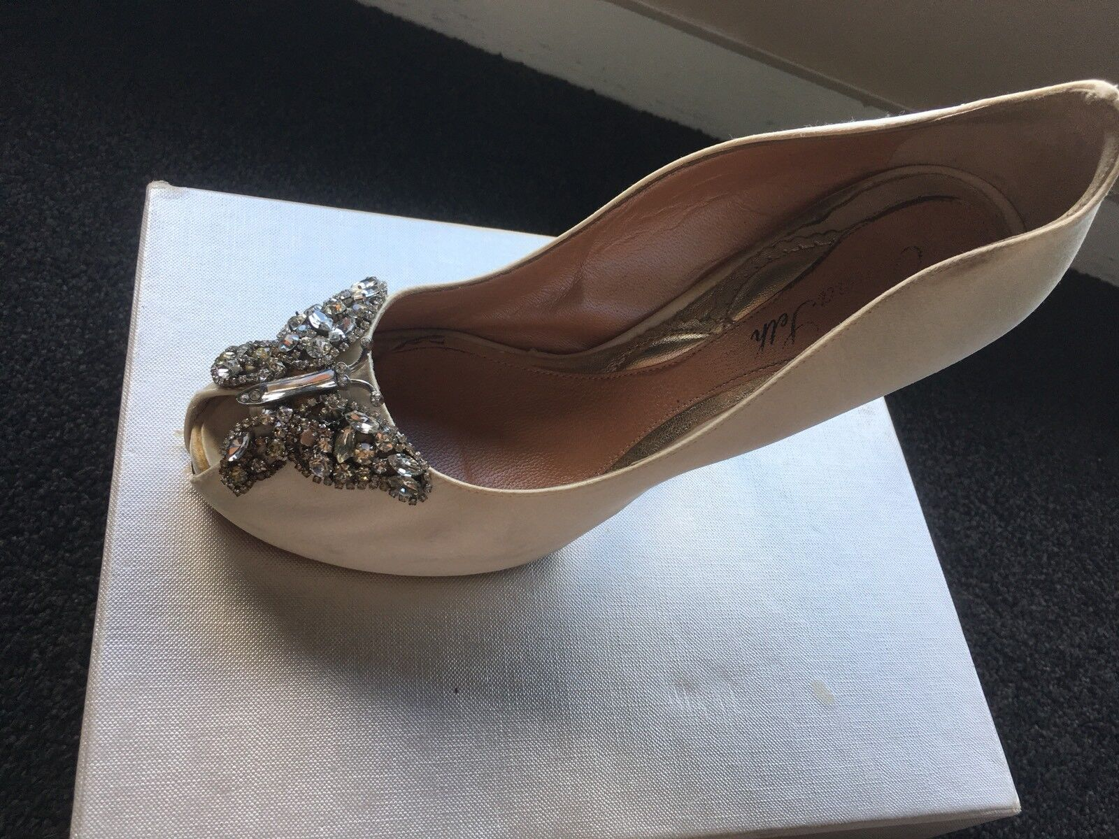 confortevole Beautiful Aruna Seth scarpe Dimensione 39 Made In In In   con il 100% di qualità e il 100% di servizio