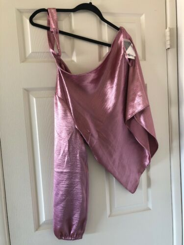 Top Rosa Project Nwt Una Boutique Runway manica Large wg46q