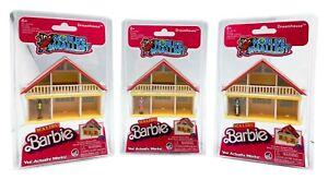 World's Smallest Malibu Barbie Dreamhouse Series 2 - (Bundle of All 3)