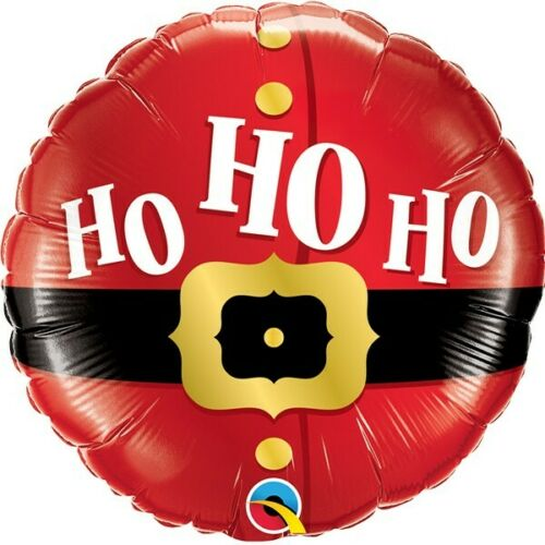 Ho Ho Ho Noël Ceinture Qualatex 9 in MINI Foil Balloon sur bâton environ 22.86 cm
