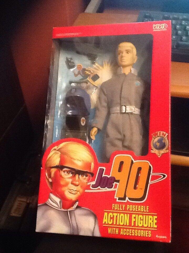 Vivid Imaginations Joe 90 12  Fully Poseable Action Figure
