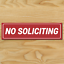 1-NO-SOLICITING-Sign-Sticker-Business-Window-Door-Decal-Store-1-5-034-x5-5-034-NEW thumbnail 2