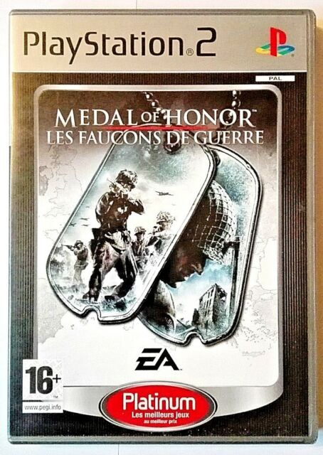 Medal Of Honor Les Faucons De Guerre - Sony PlayStation 2 PS2