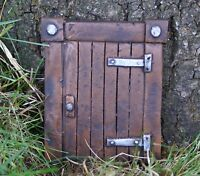 """6"""" LARGE HOBBIT OR FAIRY DOOR ELF TREE DECORATION GARDEN HOME ORNAMENT"""