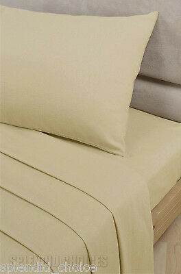 LUXURY 100% EGYPTIAN COTTON FITTED SHEETS 200 THREAD COUNT SINGLE DOUBLE KING