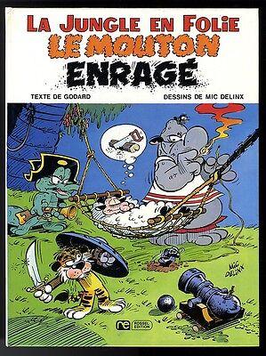 JUNGLE EN FOLIE  T 7 ( LA )  LE MOUTON ENRAGE    DELINX / GODARD      EO