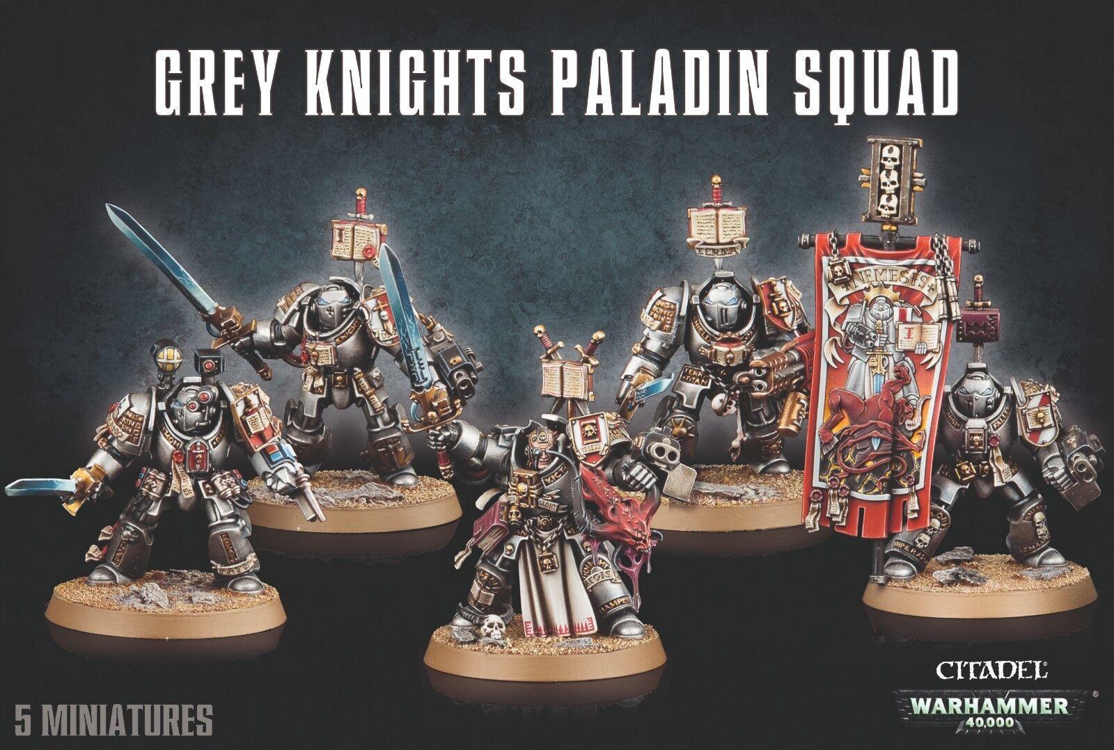 Warhammer 40K    Great Knights Paladin Squad 57-09 e33044