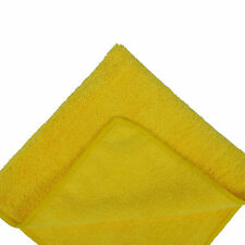 Kirkland Microfibre Soft Cloth Towels-12 yellow multi-purpose cleaning cloths