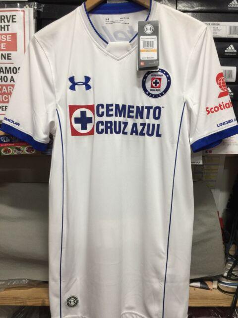 Under Armour Cruz Azul Jersey White Away 2018 for sale online  0bcb10e0e83b1