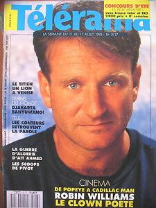 2117-ROBIN-WILLIAMS-TRAINS-DU-MONDE-GUERRE-ALGERIE-ENKI-BILAL-TELERAMA-1990