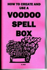 How to create and use a VOODOO SPELL BOX book S. Rob occult