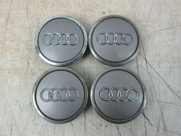 2012 Audi A3 8p 2.0 Lega Ruota Centro Tappi (set Di 4)