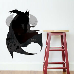 Dc Comics Superhero Batman Wall Sticker Kids Room Art