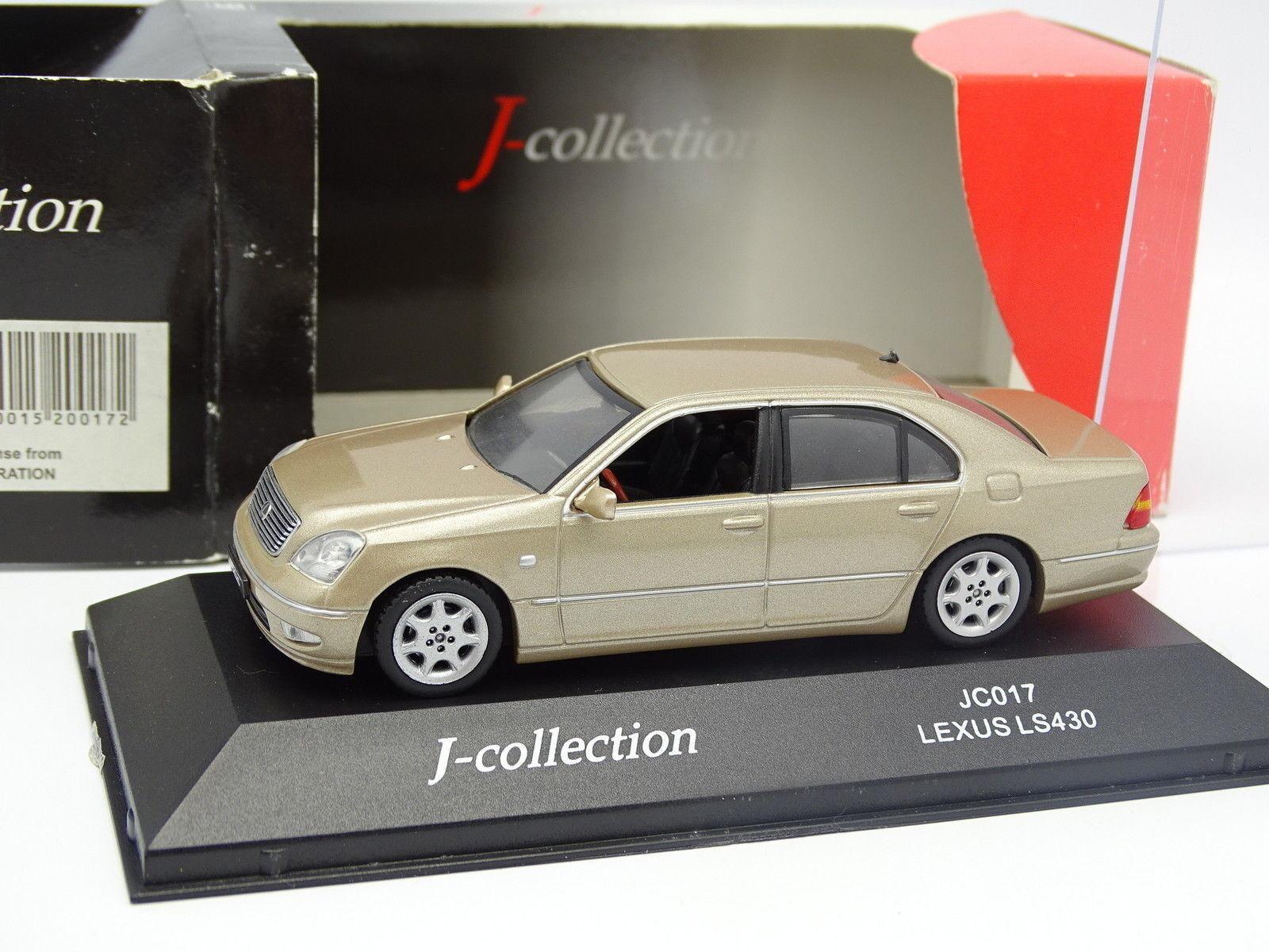 últimos estilos J Collection 1 43 - Lexus Ls 430 Beige Beige Beige Metal  Nuevos productos de artículos novedosos.