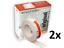 thumbnail 1 - 2 Piece Straight-Flex Original Edge Corner Rail Drywall Plasterboard 30m