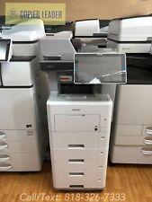 Ricoh Mp 501spf Super Low Meter 50ppm Bw Copier Printer Fax Scanner Mfp