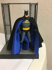 Custom Batman Animated Cloth Cape Only DC Collectibles For Figure Adventures