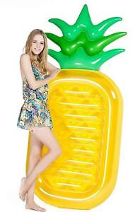 Giant-Pineapple-Pool-Party-Float-Raft-Summer-Outdoor-Swimming-Inflatable-Floatie