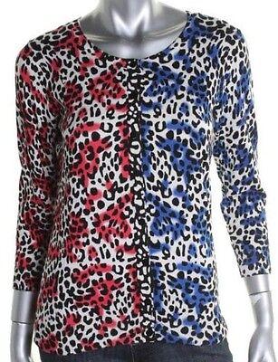 Women's Cardigan #size L Kensie Print@ $6.99 & $6.99 Sh Joseph A retails $69