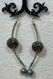 Topshop Diamonte Lever Back Earrings