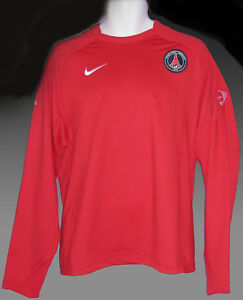 PSG-Paris-Saint-Germain-Player-Issue-Football-formation-a-Manches-Longues-Sweat-M