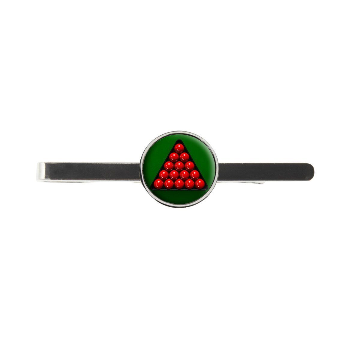 Snooker Triangle Rack Mens Tie Slide Birthday Wedding Or Father Day Gift C307