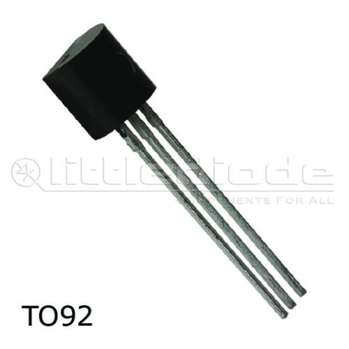 Transistor Mosfet de Canal N BSS101-Caja Infineon TO92 hacer