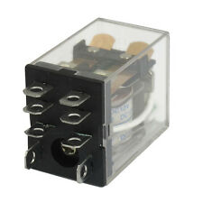 JQX-13F LY2 DC 12V Coil 8-Pin DPDT Green LED Electromagnetic Relay LW