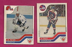 RARE-1983-84-PETER-STASTNY-SP-DALE-HAWERCHUK-SP-VACHON-FOOD-CARD-INV-A836