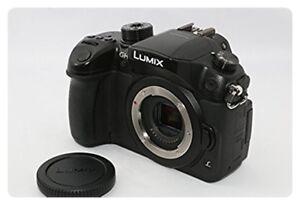 Used-Panasonic-mirrorless-camera-Lumix-GH4-Body-only-Black-DMC-GH4-K-EMS-F-S