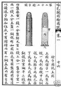 HOTCHKISS RIFLE & SHELLS UNIQUE CHINESE MANUAL MEDAL HONOR WINNER BOXER WAR NAVY