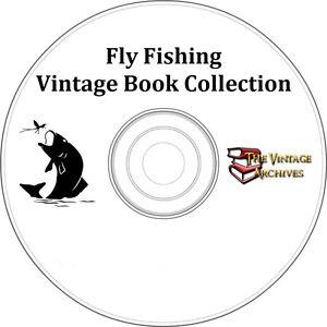 Fly-Fishing-Vintage-7-Book-Collection-on-CD-Fishing-Angler-Fisherman-Fish
