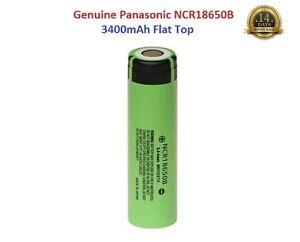 1x-Genuine-Panasonic-18650-3400mAh-3-7v-Rechargeable-Battery-Vape-Flat-Top-UK