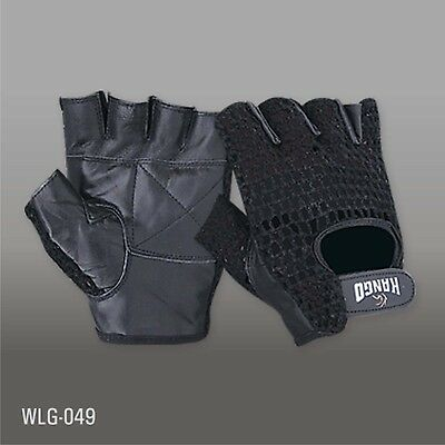 Prime Finger Less Gloves Gym Weight Training Weight Lifting Gel Padded Glove 605