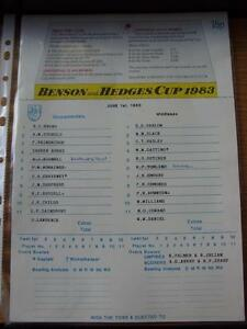 01-06-1983-Cricket-Scorecard-Gloucestershire-v-Middlesex-Benson-amp-Hedges-Cup