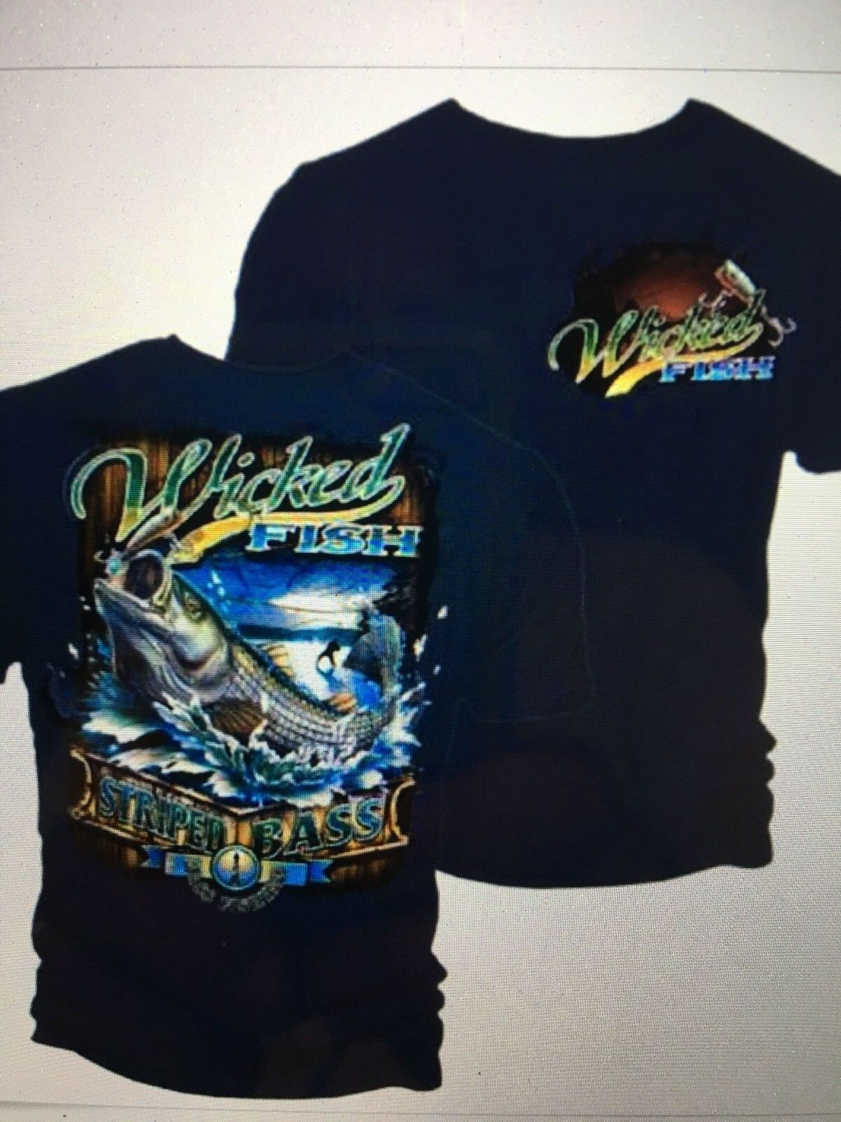1-MENS WEAR-DON/'T DRINK /& FISH-BASS FLY FISHING BOATING GRAPHIC PRINTED T-SHIRT