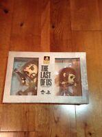 The Last Of Us Ellie & Joel Vinyl Action Figure Set Limited Edition Esc Toy Rare