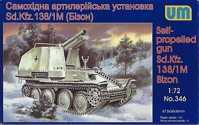 Unimodel 1//72 Sd Kfz 138//1M Bison # 346